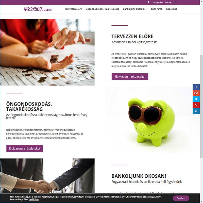 Bemutatkozó weboldal, Egyedi dizájn