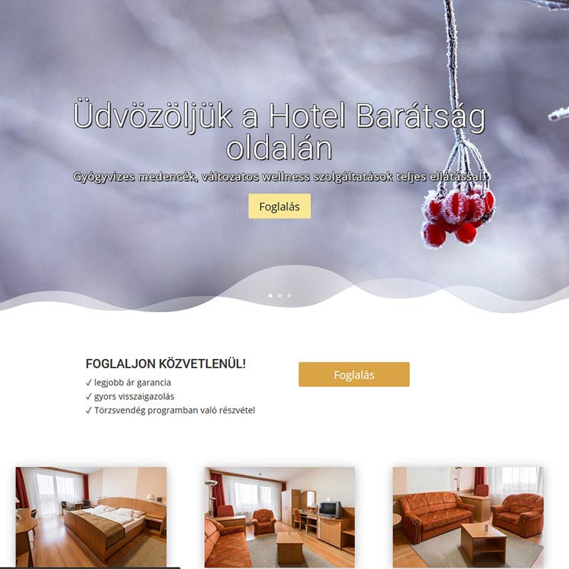 Céges weboldal, Egyedi dizájn, Mobilra optimalizált weboldal