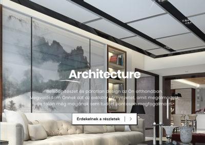 Weboldal készítés az Art-room stúdió részére