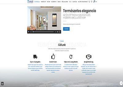 Weboldal készítés a Fali vízesés részére